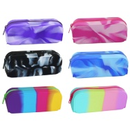 Silicone Marble Pencil Case Assorted