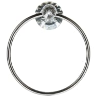 Crystal Towel Ring - Round