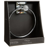 Crystal Towel Ring - Square