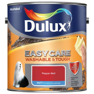 Dulux Easycare Matt Paint - Pepper Red 2.5L
