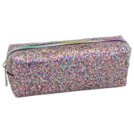 Glimmer Pencil Case - Coloured Glitter