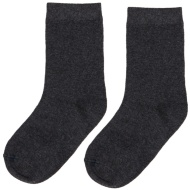 Kids School Socks 8pk - Grey