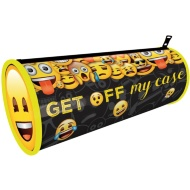 Emoji Pencil Case - Black & Yellow