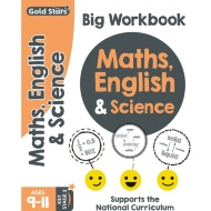 Gold Stars Maths, English & Science Big Workbook 9-11 Years