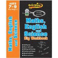 Gold Stars Maths, English & Science Big Workbook 7-9 Years
