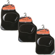RAC Checker Plate Car Mat Set