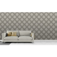Fine Decor Annabelle Wallpaper - Grey