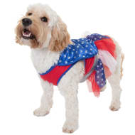 Dogs Superhero Costume - Super Girl