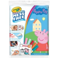 Peppa Pig Colour Wonder Mess Free Colouring Book