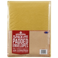 Large Padded Envelopes 5pk