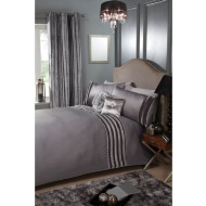 Kendall Satin Stripe Duvet Set - Double