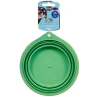 Collapsible Pet Travel Bowl - Green