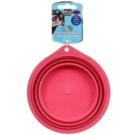 Collapsible Pet Travel Bowl - Pink