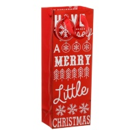 Christmas Bottle Gift Bag