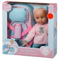 Cutie Pie Doll and Carry Cot