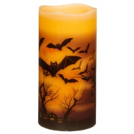 Halloween LED Pillar Candle