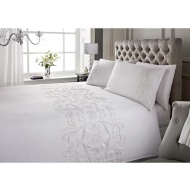 Marilyn Metallic Stitch Duvet Set - Double