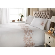 Savannah Stitch Double Size Duvet Set