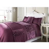 Dallas Damask Velvet Bed in a Bag - Double