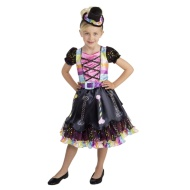 Girls Halloween Sequin Outfit Ages 5-7 - Candy Witch