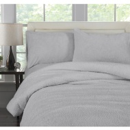 Downland Adults Fleece Duvet Set - Double