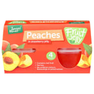 Seasons Harvest Fruit Jelly Pots 4pk - Strawberry