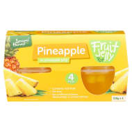 Seasons Harvest Fruit Jelly Pots 4pk - Pineapple