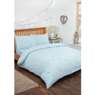 Kids Stars Single Duvet Set - Blue