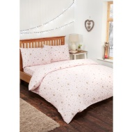 Stars Brushed Cotton Duvet Set - Single