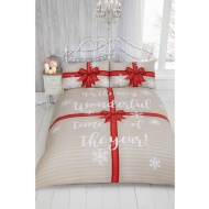 Parcel Bedding Brushed Cotton Duvet Set - Double