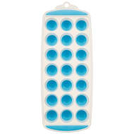 Silicone Pop Out Ice Cube Trays 2pk - Blue