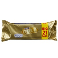 McVities Gold Biscuit Bars 21pk