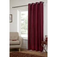 Washington Fully Lined Faux Silk Curtain Panel - 54 x 86