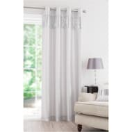 Vegas Sequin Fully Lined Curtain Panel - 54 x 86