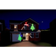 Christmas Light Show Projector