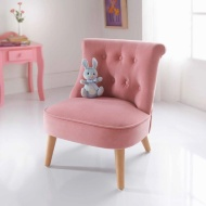 Amelia Velvet Kids Chair