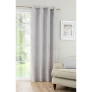 Textured Chenille Unlined Curtain Panel 54 x 86