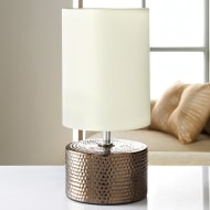 Denver Dimple Table Lamp - Bronze