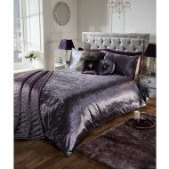 Versailles Full Velvet Face Duvet Set - King