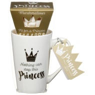 Princess Mug & Marshmallow Set - Nothing Can Stop This Princess