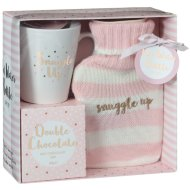 Hot Water Bottle & Hot Chocolate Gift Set - Snuggle Up