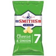 Smith's Cheese & Onion Crisps 7pk
