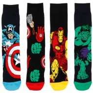 Mens Marvel Avengers Socks 4pk