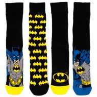 Mens Batman Socks 4pk