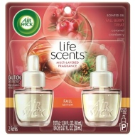 Air Wick Life Scents Scented Oil 2pk - Fall Berry Treat