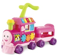 Walker Ride-On Learning Train - Pink