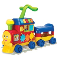 Walker Ride-On Learning Train - Red