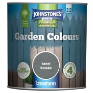 Johnstone's Paint Woodcare Garden Colours - Steel Smoke 1L
