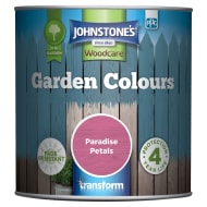 Johnstone's Paint Woodcare Garden Colours - Paradise Petals 1L
