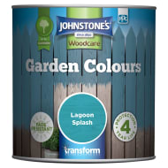 Johnstone's Paint Woodcare Garden Colours - Lagoon Splash 1L